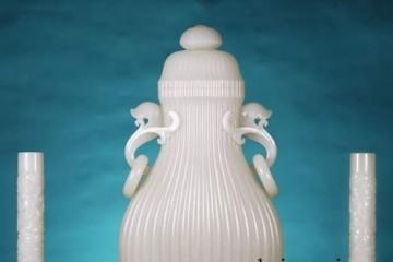 白玉双龙耳瓶 你熟悉吗