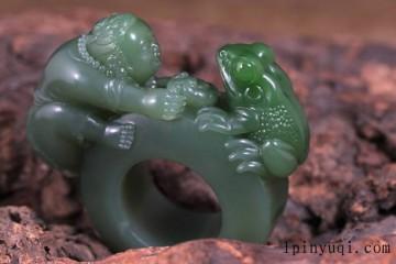 以蛙为主题的玉雕作品都有哪些美好的寓意呢