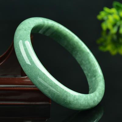 冰糯种翡翠手镯A货玉石玉镯镯子 珠宝玉石