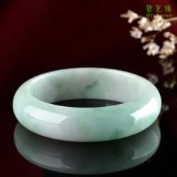 天然翡翠手镯镯子玉镯玉手镯女款珠宝玉石