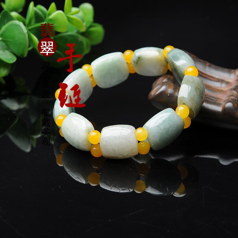 翡翠寿龟手链