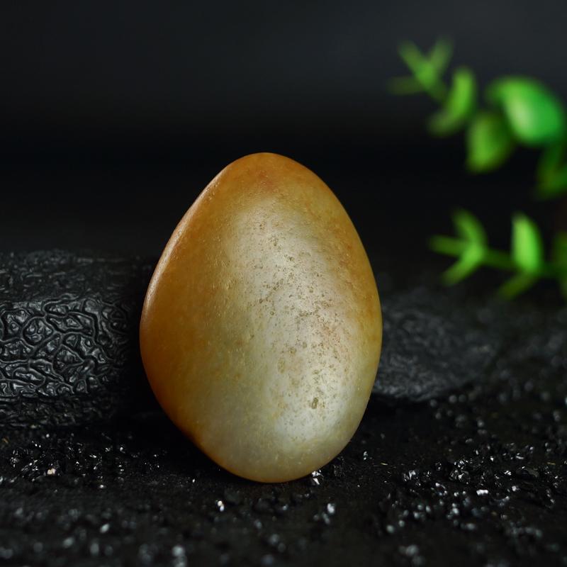 和田籽料原石精美黄润和田玉原石